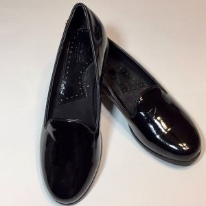 GH BASS Women's Leslie Black Loafers NWOT  sz 6.5M